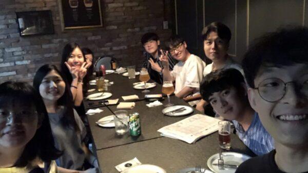 2019.08.03 Lab dinner
